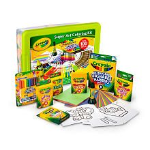 Crayola Super Art Coloring Kit - Green