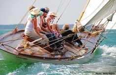 A report from the second day of the British Classic Yacht Club regatta Wooden Sailboat, Sailboat Art, Wooden Boats, Sailboats, Classic Sailing, Classic Yachts, Yacht Boat, Yacht Club, Sail Racing