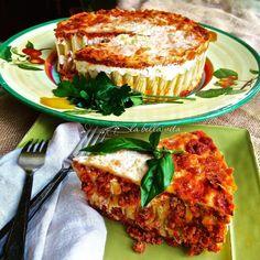 Cheesy Italian Rigatoni Torta | La Bella Vita Cucina #pasta #italian #torta #rigatoni #casserole