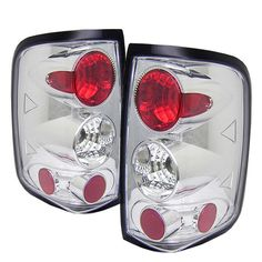 ( Spyder ) Ford F150 Styleside 04-08 (Not Fit Heritage & SVT) Euro Style Tail Lights - Chrome