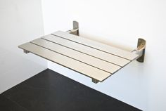 Image result for stainless steel hinged shower seat