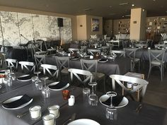 Restaurant Varoulko Athens #chair #mexil #restaurant #music Restaurant Music, Athens, Conference Room, Chair, City, Table, Furniture, Home Decor, Decoration Home