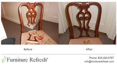 Antique chair: Broken back. #Furniture #Antique #Chair #Repair #Restoration  #Refinishing #Touchup