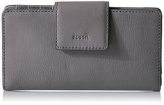 Fossil+Emma+Rfid+Tab+Wallet-grey+Wallet
