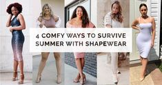 8333323d37d62 4 COMFY Ways to Survive Summer with Shapewear  shapermint  shapewear   shapewearLOUDandPROUD  Dress · Summer Dress OutfitsShapewearFashion 2018 Trendy ...