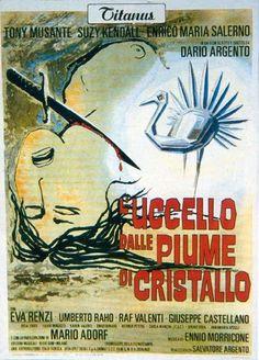"L'Uccello Dalle Piume di Cristallo (1970) ""O Pássaro das Plumas de Cristal"""