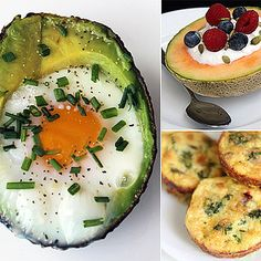 Baked Egg in Avocado: Low-Carb and High Protein Breakfast Recipes Avocado Egg Recipes, Avocado Egg Bake, Baked Avocado, Stuffed Avocado, Avocado Ideas, Avocado Dishes, Avocado Toast, Paleo Recipes, Cooking Recipes