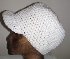 Crochet Hat with Brim | Crochet Geek - Free Instructions and Patterns