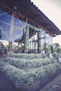 decoracion capilla, decoracion ceremonia, hacienda el salitre, flores de boda