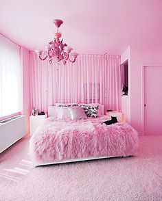 #Pink #fluffy #room