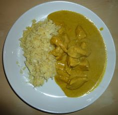 Enkel Chicken Curry og «ris» | The Shrinking Line