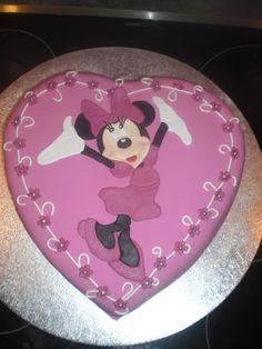 Minnie Mouse Birthday Cake Purple