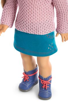 American Girl Sparkle Sweater Outfit