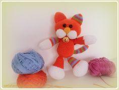 Gatito amigurumi (kitten) Part 1: tejiendo la cabeza