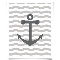 Free Printable Anchor Art