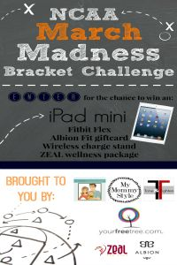NCAA March Madness Tournament 2014. Win an iPad Mini and Other Great Prizes!