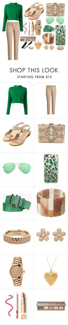 """""""outfit"""" by aletraghetti on Polyvore featuring moda, DKNY, Brunello Cucinelli, Forever Unique, Ray-Ban, Casetify, Dsquared2, Phase Eight, Colette Jewelry y Gucci"""