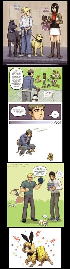 SnK dog bonus 2 by emlan
