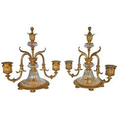 Special Pair of Small Candelabrum
