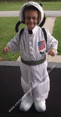 Homemade Astronaut Costume