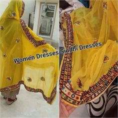 Embroidery Works, Hand Embroidery, Embroidery Designs, Sindhi Dress, Balochi Dress, Navratri Special, Bridal Dress Design, Cutwork, Dress Designs