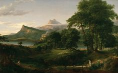 Cole Thomas The Course of Empire The Arcadian or Pastoral State 1836 - Thomas Cole – Wikimedia Commons