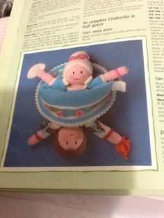 Knitting Pattern For Upside Down Cinderella Doll : 1000+ images about Upside down Doll on Pinterest Cinderella, Dolls and Popup