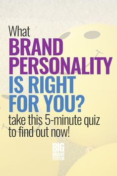 Are you wondering how to build a memorable brand? Take this 5-minute quiz from BIG Brand System to discover what brand personality you have — and find out why brands with a distinct personality are better! #onlinemarketing #marketingtips #contentmarketing #designtips #bigbrandsystem #theimagelab