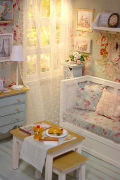 Summer light Diorama by Keera, via Flickr