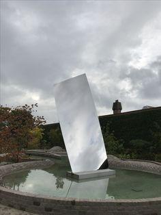 Sky Mirror for Hendrik. De Pont museum Tilburg NL. Anish Kapoor.
