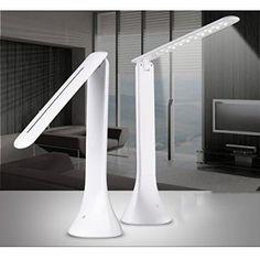 Stoog Lampe de table 18 LED, Lampe de lecture Lampe de bureau Flexible, 3 Mode de Luminosité Régleable par Contrôleur Interrupteur Tactile,…