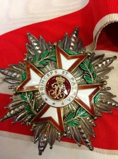 Grand Cross breast star Order of St. Charles