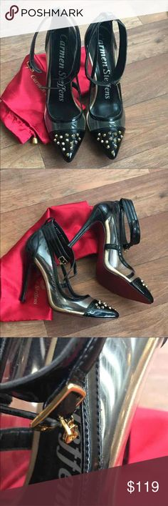 NWT Carmen Steffens studded pointed toe heels Beautiful 🌹 on trend 🌹 gorgeous details Shoes Heels