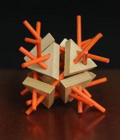 Tri-Sticks - 3D Mind Bender Logic Puzzle Cube   Siiren