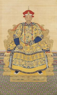 """Emperor Kangxi (Qing Dynasty, 1654–1722) reigned 1662–1722 when Joslyn's """"Eight-panel screen"""" was created."""