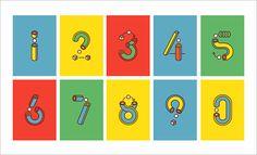 playful series of numbers that Tatalab created for Yorokobu Magazine.