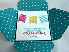 Birthday - Stampin UP!use with new fold from SallyM and new w. tape from Sue B.