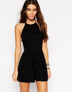 Discover women's jumpsuits & playsuits with ASOS. Shop a range of women's jumpsuits, unitards, playsuits and dungarees with ASOS. Latest Fashion Clothes, Fashion Dresses, Fashion Online, Women's Fashion, Mode Rockabilly, Online Shop Kleidung, Asos Mode, Mode Online Shop, Playsuit Romper