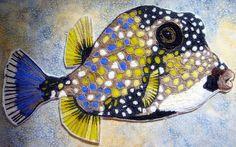 CUSTOM Seed Bead Marine Fish - Eleanor Pigman
