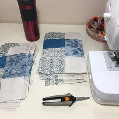 My hot date for tonight sewing machine and fabric!