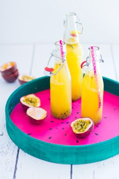 Passionsfrucht - Limonade