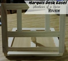 Art Alternatives Marquis Easel review from Adventures of a Nurse. Great holiday gift. November 2014 Painters Studio, Easels, Dream Studio, Marquis, Art Supplies, November, Shelves, Desk, Adventure