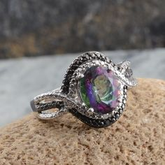 1000 Images About Mystic Topaz Jewelry On Pinterest