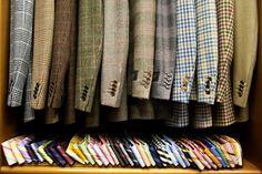 Ties and blazers #wardrobe