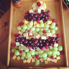 Merry Christmas Appetizer tree!  I made this for Christmas and it was a big hit.  Very easy.
