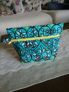 Bag I made copied from someone else's pin. Cotton fabric from Kenya.