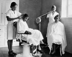WASH, BLOW & PRESS  Manual Training and Industrial School for Colored Youth, Bordertown, NJ, 1930s