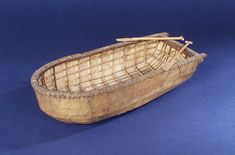 Donegal Paddling Curragh; Fishing vessel; Small craft - National Maritime Museum