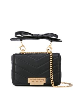 Zac Zac Posen Earthette Mini Shoulder Bag - Farfetch Zac Posen, Online Dress Shopping, Shopping Sites, Tony Bowls, Celebrity Dresses, Celebrity Style, Kate Moss, Calf Leather, Luxury Branding