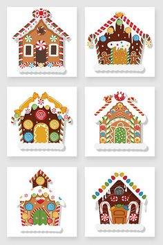 Cartoon Christmas gingerbread house vector material#pikbest#graphic-elements Christmas Gingerbread House, Christmas Love, Winter Christmas, Vintage Christmas, Italian Christmas, Gingerbread Houses, Gingerbread Cookies, Christmas Activities, Christmas Printables